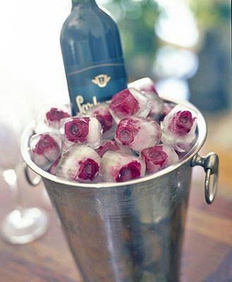 Wedding DIY Frozen Roses